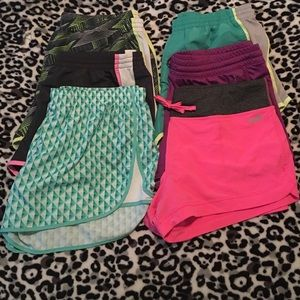Bundle of 6 Running/Workout Shorts Size XL
